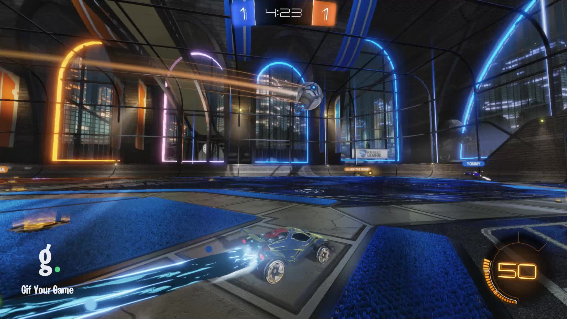 Gif Your Game, GifYourGame, Goal, ItWas...Justified, Rocket League, RocketLeague, Goal 3: ItWas...Justified GIFs