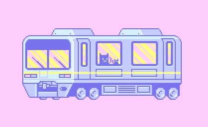 Watch click here for more pastel/kawaii *:  GIF on Gfycat. Discover more cute, kawaii, not mine, pale, pastel, pastel pixel, pixel, pixel art, repost, rv, transport GIFs on Gfycat