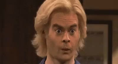 Watch and share Bill Hader GIFs on Gfycat