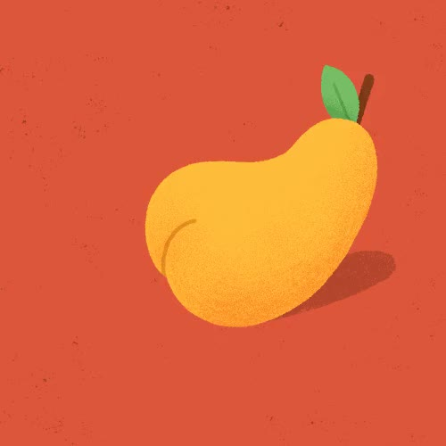 Watch and share Farting Pear, Animated Gif GIFs on Gfycat