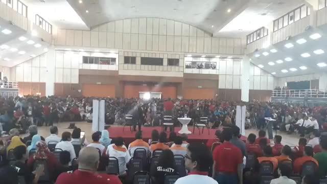 Watch and share Tun Mahathir Kena Baling Kasut, Kerusi Dan Suar Api — MiLo SuaM GIFs on Gfycat
