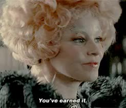 Watch this the hunger games GIF on Gfycat. Discover more Catching Fire, Effie Trinket, Katniss Everdeen, by olivia, cfedit, gif GIFs on Gfycat