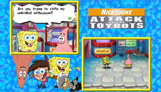 Lets Play Nicktoons Attack Of The Toybots Ds Ep 1 Nicktoons
