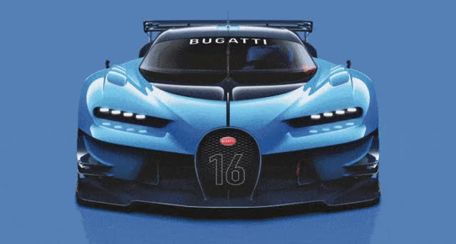 Watch and share Bugatti Vision Gran Turismo GIFs on Gfycat