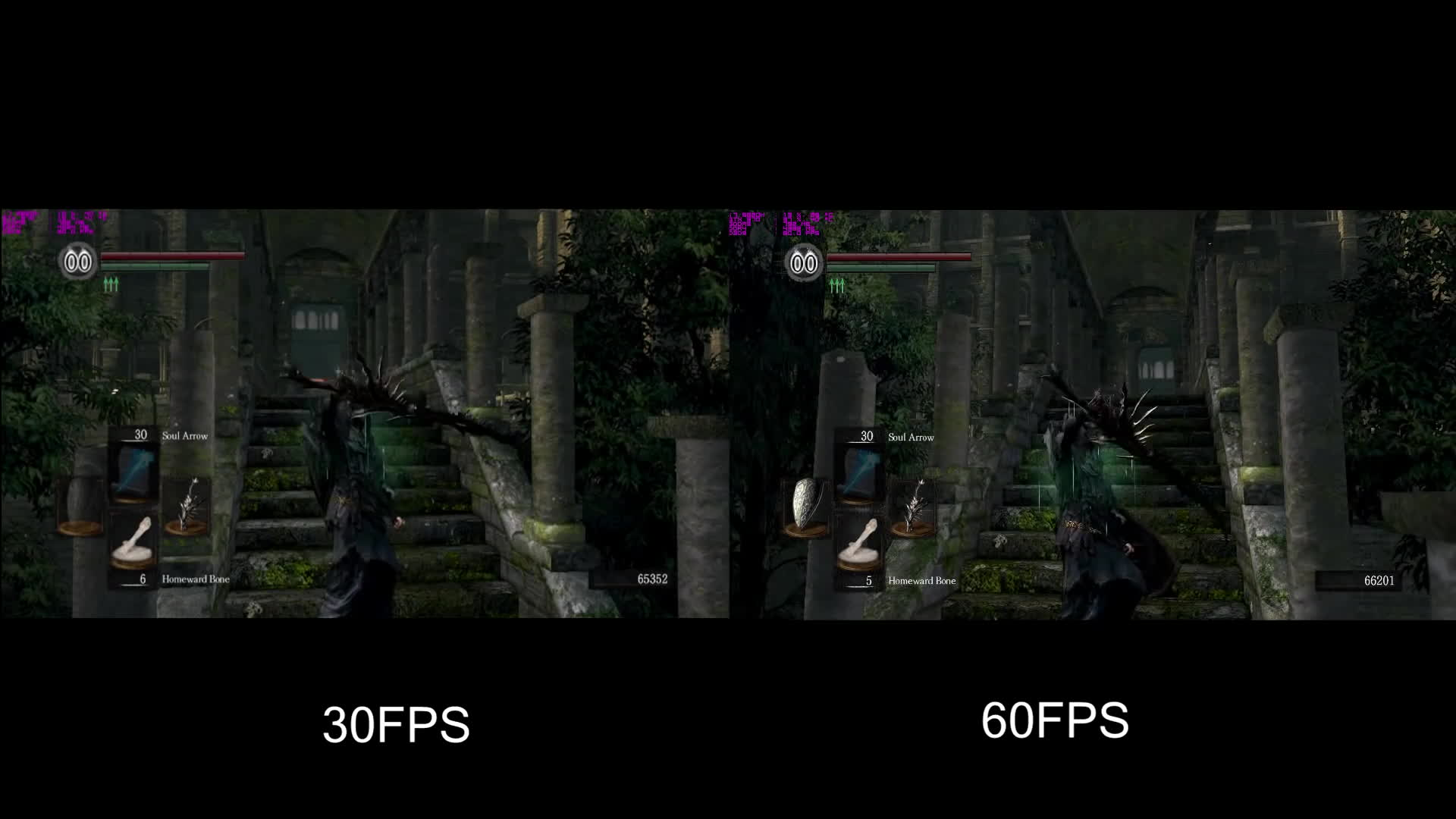 30 FPS vs. 60 FPS in Dark Souls Using DSFix 2.4 GIF by (@ozzyrocker45) |  Find, Make & Share Gfycat GIFs