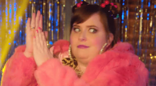 aidy bryant, celebrate, clapping, dancing, excited, head bob, saturday night live, snl, yas, yes, Back Home Ballers - SNL GIFs