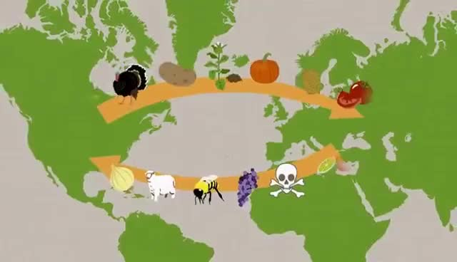 Watch and share An Introduction To Alfred Crosby's The Columbian Exchange - A Macat History Analysis GIFs on Gfycat