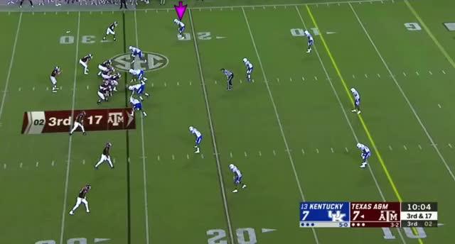 Watch and share 2019 NFL Draft: Lonnie Johnson Break On Flat Tackle GIFs by Matt Weston on Gfycat