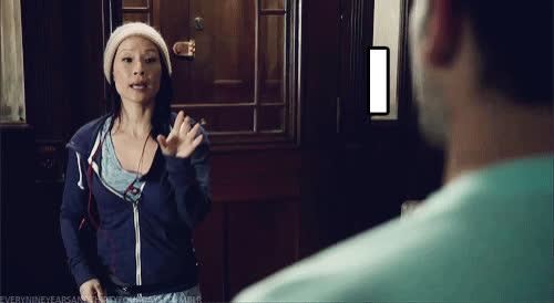 lucy liu, Lucy-Liu-I-Didnt-Ask-Reaction-Gif GIFs