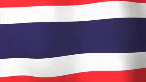 Watch and share Flag Of Thailand - ธงชาติไทย GIFs on Gfycat