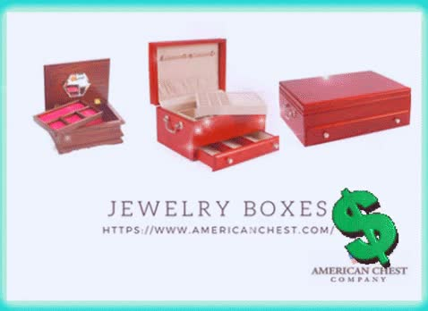 Watch and share Jewelry Boxes GIFs by americanchest on Gfycat
