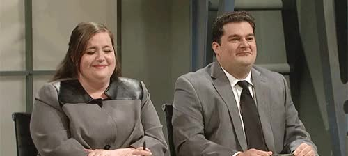 Watch this GIF on Gfycat. Discover more aidy bryant, bobby moynihan GIFs on Gfycat