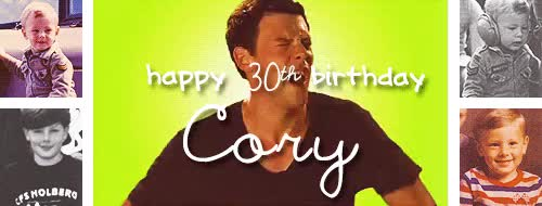 Watch -imstillyours -imstillyours GIF on Gfycat. Discover more cory monteith, happy birthday love, my stuff GIFs on Gfycat