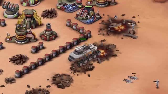 Star Wars: Commander Juggernaut Sideshot GIF | Find, Make & Share