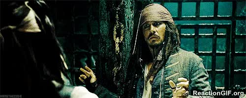 Watch and share Bye Go Away Jack Sparrow Pirates Of The Carribbean GIFs on Gfycat