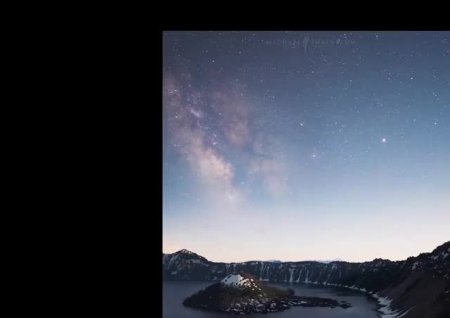 Watch and share Stabilized: Crater Lake Timelapse GIFs on Gfycat