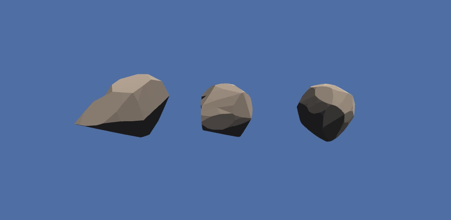 proceduralgeneration, unity3d, Better Boulders GIFs