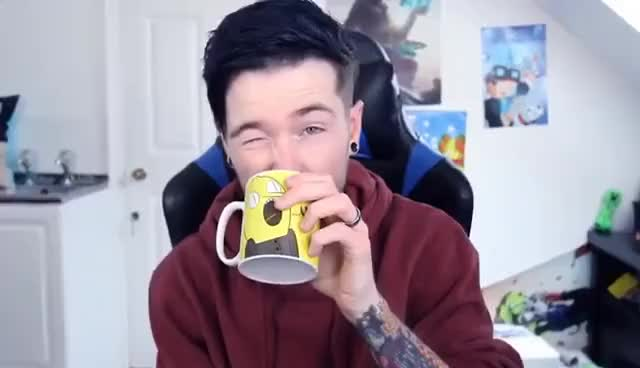 Watch DanTDM Toungue Stick-Out GIF on Gfycat. Discover more related GIFs on Gfycat
