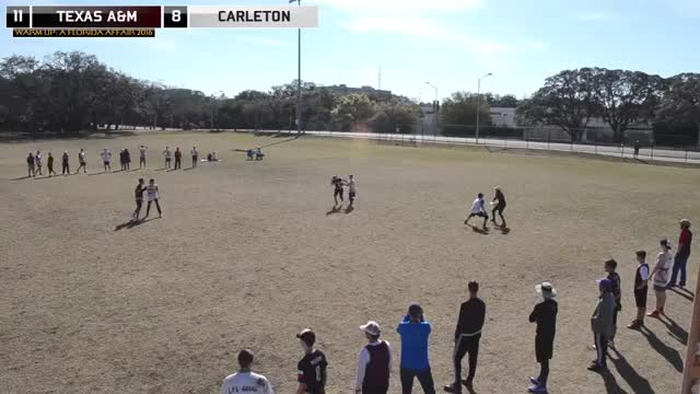 Watch and share FL Warm Up 2016 Wildcard: Texas A&M Vs Carleton GIFs on Gfycat