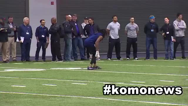 Watch and share Sidney Jones GIFs and Nfl Pro Day GIFs on Gfycat