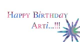 Watch and share Happy Birthday Arti ...:) | 4014733 | Meme4u.com Forum GIFs on Gfycat