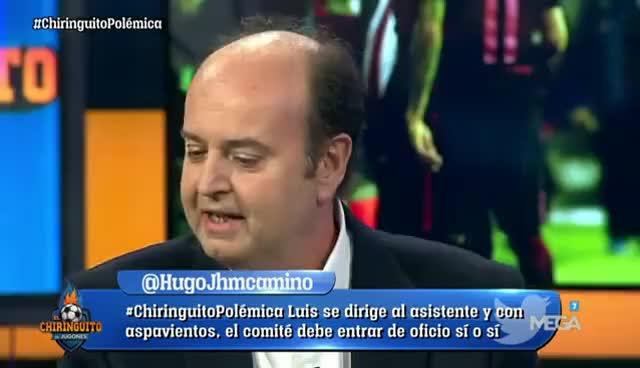 """Watch and share Juanma Rodríguez: """"Cuando Parecía Que 'El Chiringuito' Iba A Ir Por Aquí...va Por Allá"""" GIFs on Gfycat"""