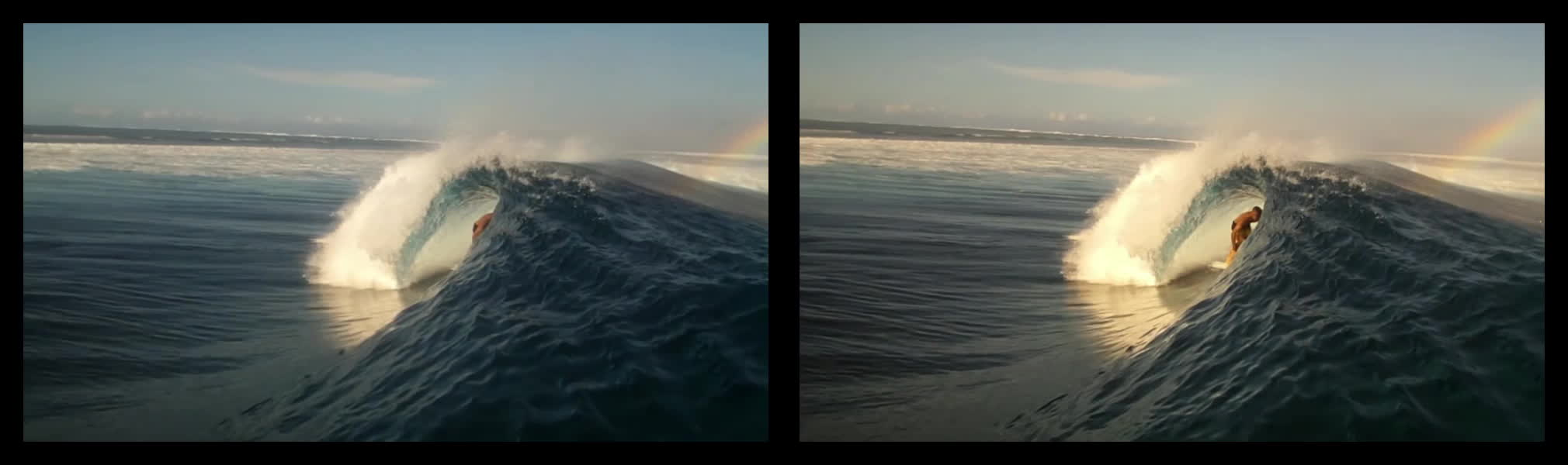 crossview, surfing, Surfing under a wave (Crossview Conversion) GIFs