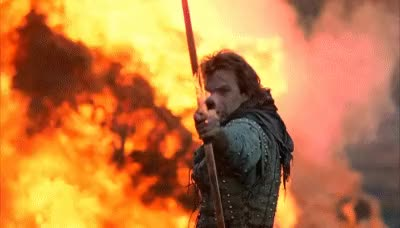 Watch and share Robin Hood Flaming Arrow GIFs on Gfycat