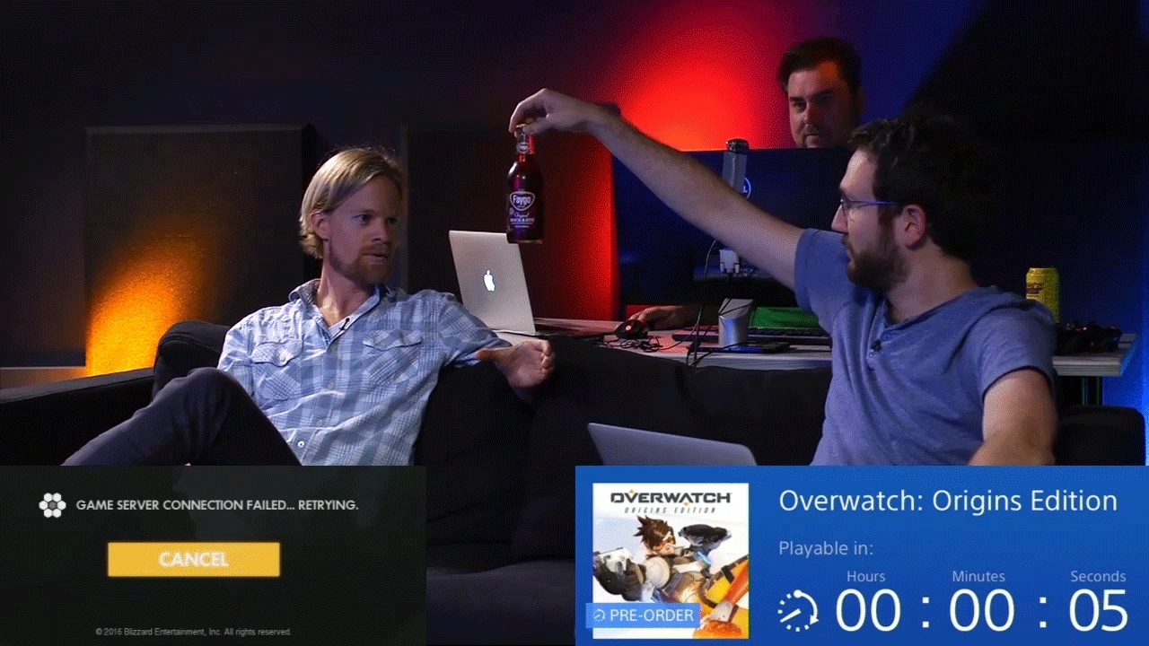 giantbomb, Giant Bomb - Overwatch Launch Stream GIFs