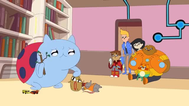 Watch and share Catbug-Rebecca GIFs on Gfycat