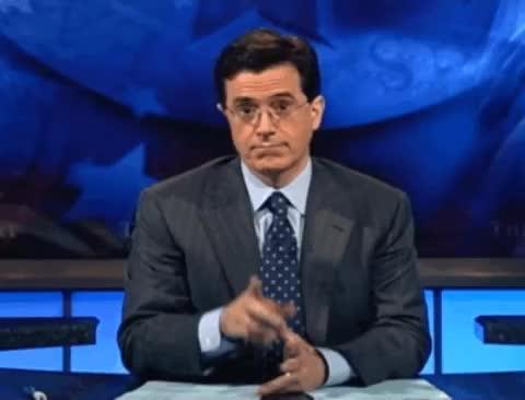 be quiet, colbert, hush, quiet, shhh, shush, shut up, silence, Quiet Stephen Colbert GIFs