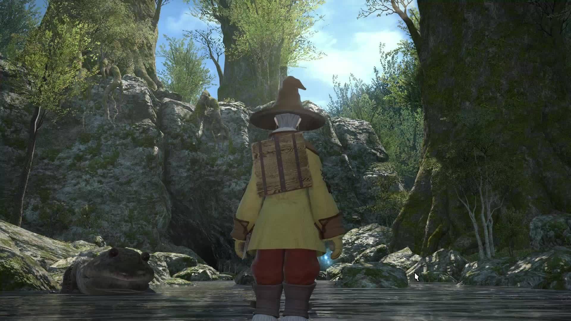 60fpsgaminggifs, [Final Fantasy XIV] The lighting, the environments, the character design... (reddit) GIFs