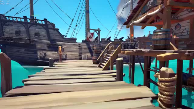Watch Boat? GIF by Gamer DVR (@xboxdvr) on Gfycat. Discover more Rolypoly Panda, SeaofThieves, xbox, xbox dvr, xbox one GIFs on Gfycat