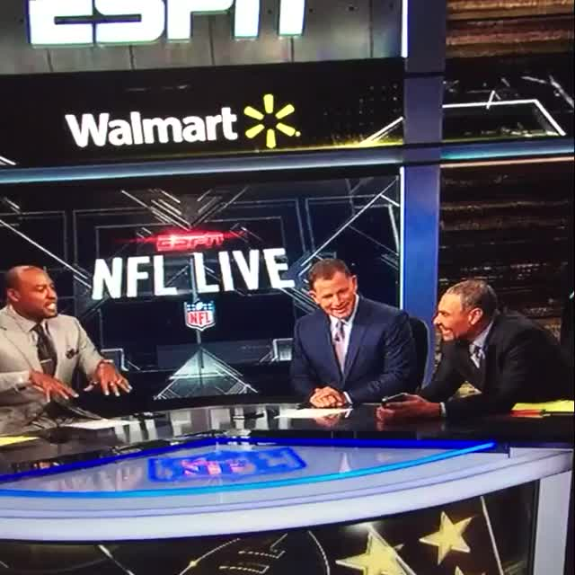 "Watch and share Herm Edwards & My Old Pal From Arizona State & Cowboys Darren Woodson Discuss Twitter On NFL Live. 🏉 📲 ""Don't Press Send"" GIFs by Daniel Baker on Gfycat"