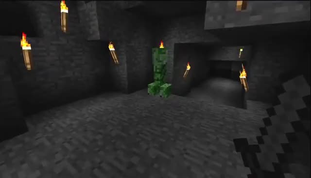 minecraft, CREEPER! GIFs