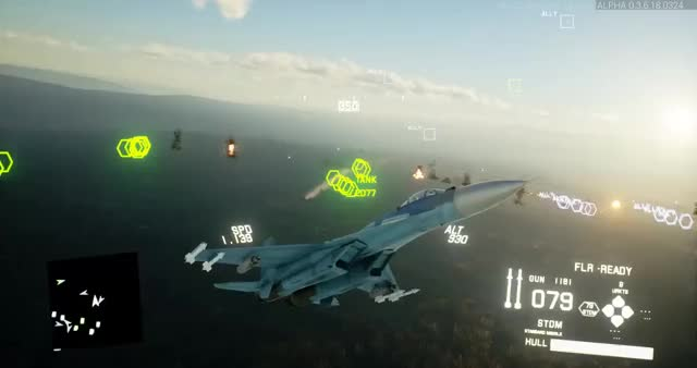 Watch and share Close Air Support Inbound - - Gamedev Screenshotsaturday UE4 ProjectWingman GIFs on Gfycat