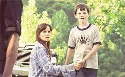 Watch Reunited 1x03 // 5x01 GIF on Gfycat. Discover more 1x03, 5x01, Andrew Lincoln, Carl Grimes, Chandler Riggs, IM SO EMOTIONAL, Judith, No Sanctuary, Rick Grimes, Sarah Wayne Callies, TWD, Terminus, crying, parallels, reunited and it feels so good, season 5 premiere, the walking dead GIFs on Gfycat