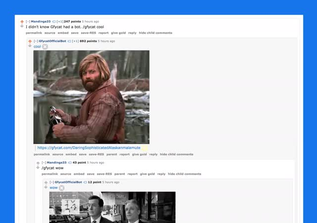 Watch Gfycat launches GIF bot for Reddit (reddit) GIF on Gfycat. Discover more gfycat GIFs on Gfycat