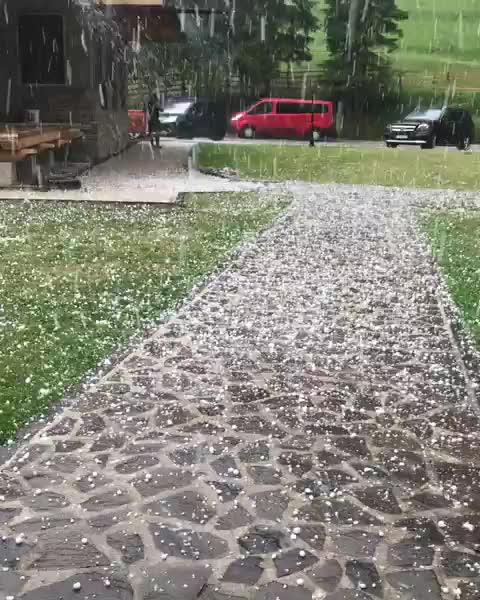 slovakia | #thisisslovakia 🇸🇰, thisisslovakia, Crazy hail storm 😱 from 2days ago filmed at @kolibaudobrehopastiera #ThisIsSlovakia Video by @mishell3987 GIFs