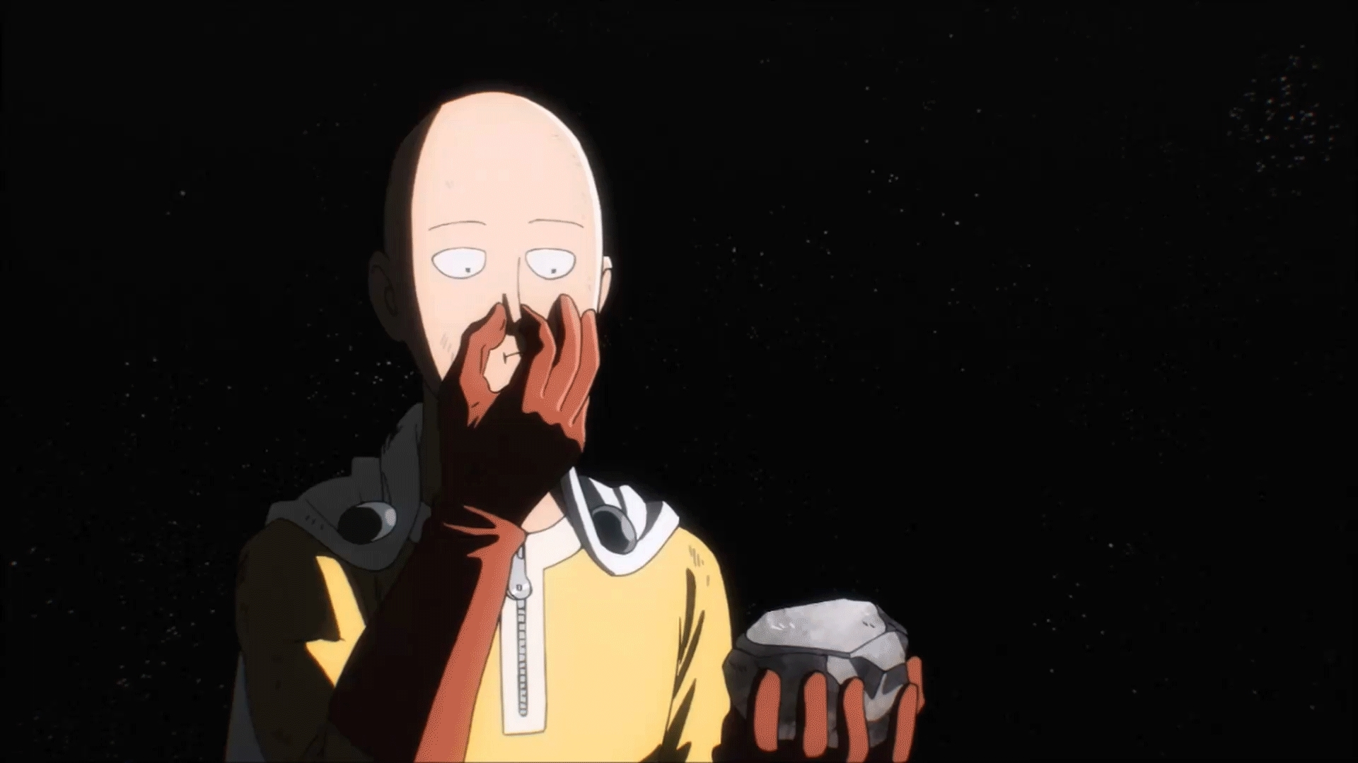 onepunchman, Just contemplating a few things... GIFs