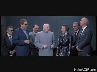 Watch and share Austin Powers Evil Laugh GIFs on Gfycat