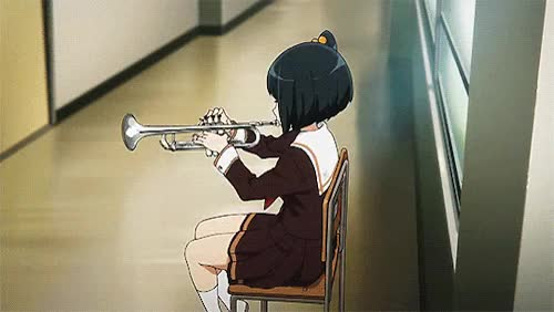 Watch gif anime mygif hibike! euphonium sound! euphonium euph gif GIF on Gfycat. Discover more related GIFs on Gfycat