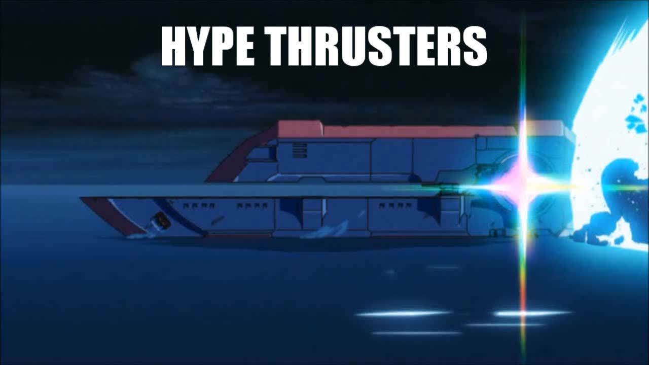 KillLaKill, TheLastAirbender, Created a High Quality Hype Thrusters - Hopefully we can use it elsewhere. (reddit) GIFs