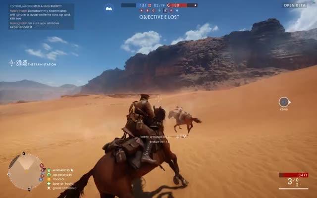 Watch Intense Horse Duel [BF1] GIF by @chadlol on Gfycat. Discover more battlefield, battlefield 1, horse GIFs on Gfycat