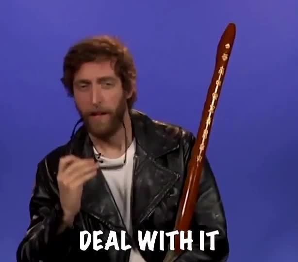 deal with it, wizard,  GIFs