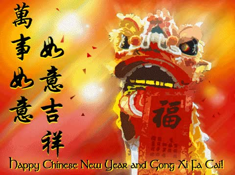 Watch and share Happy Chinese New Year And Gong Xi Fa Cai GIFs on Gfycat