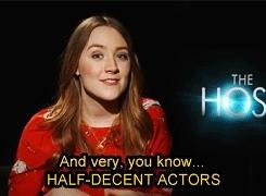 Ian O'Shea, Jared Howe, Saoirse, Saoirse Ronan, SaoirseRonan, The Host, jake abel, max irons, melanie, melanie stryder, melaniestryder, thehost, wanda, wanderer, Someone like you GIFs