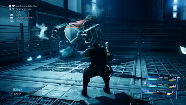 Watch and share Final Fantasy VII Remake  - Barret GIFs by PlayStation on Gfycat