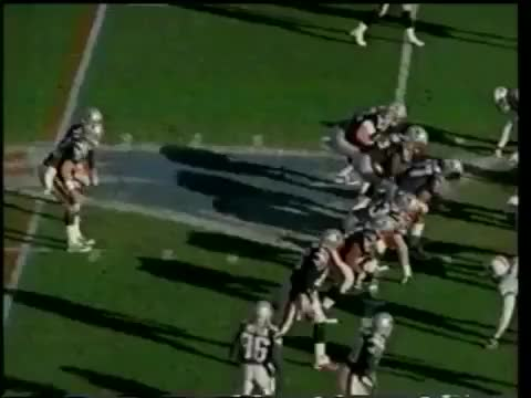 Watch and share Faulk To Brady Pass Dec22-2001 GIFs by yvonne618 on Gfycat