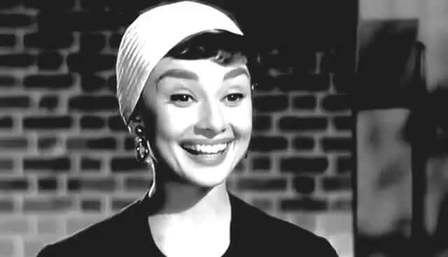 Watch Audrey Hepburn || Young & Beautiful (Tribute) GIF on Gfycat. Discover more related GIFs on Gfycat